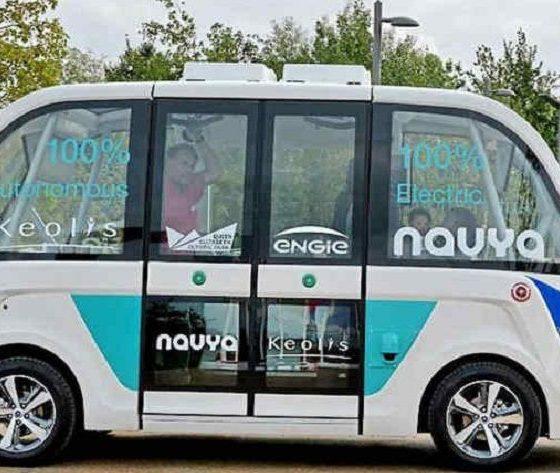 Navya, un minibus eléctrico y autónomo que da servicio gratuito 33
