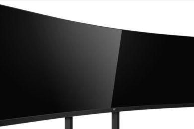 Philips 492P8 es un monitor gigante con diseño ultrawide extremo 32:9