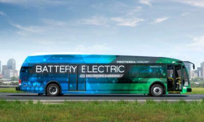 Este autobús ha recorrido casi 1.800 kilómetros con una carga de batería 30