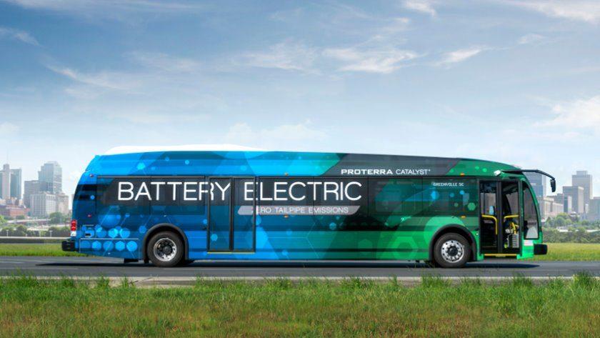 Este autobús ha recorrido casi 1.800 kilómetros con una carga de batería