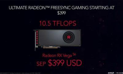 Radeon RX Vega 56 con OC frente a GTX 1070 con OC 83