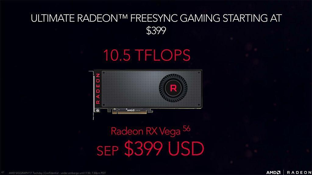 Radeon RX Vega 56 con OC frente a GTX 1070 con OC 30
