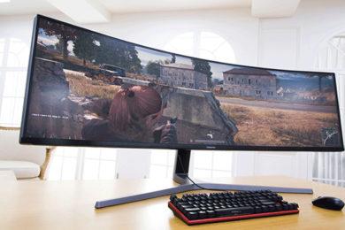 Samsung trae a España su monitor gaming QLED gigante