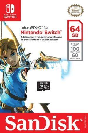 Nintendo se asocia con Western Digital para comercializar tarjetas SD oficiales para Switch 31