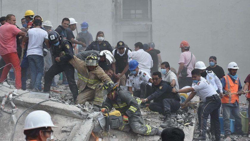 Terremoto en México ¡Toda la ayuda es poca!
