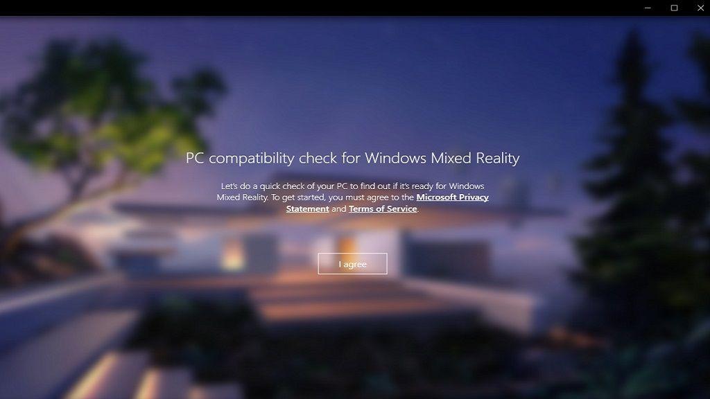 Ya disponible Windows Mixed Reality PC Check 31