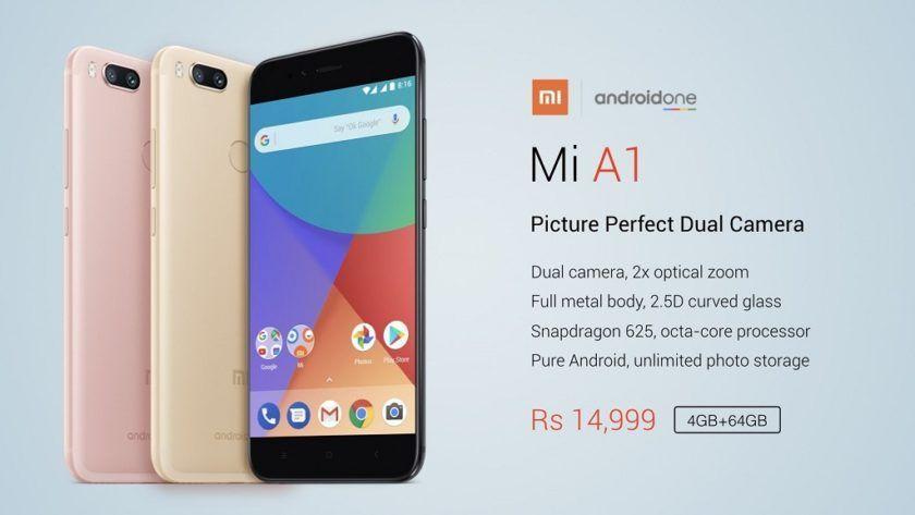 Nuevo Xiaomi Mi A1; económico y con Android limpio