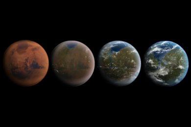 Elon Musk muestra una simulación del ITS para colonizar Marte