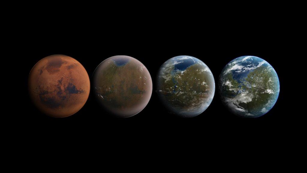 Elon Musk muestra una simulación del ITS para colonizar Marte 29