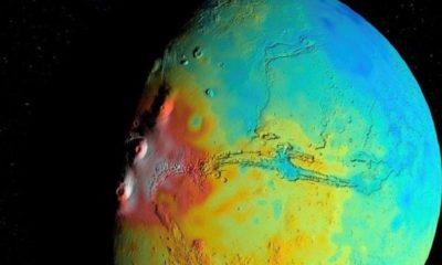 La corteza de Marte es menos densa de lo que creían los astrónomos 80