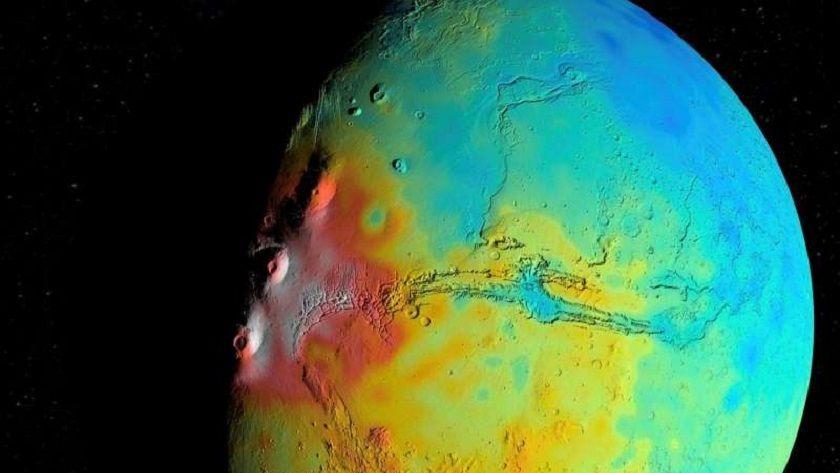 La corteza de Marte es menos densa de lo que creían los astrónomos 29
