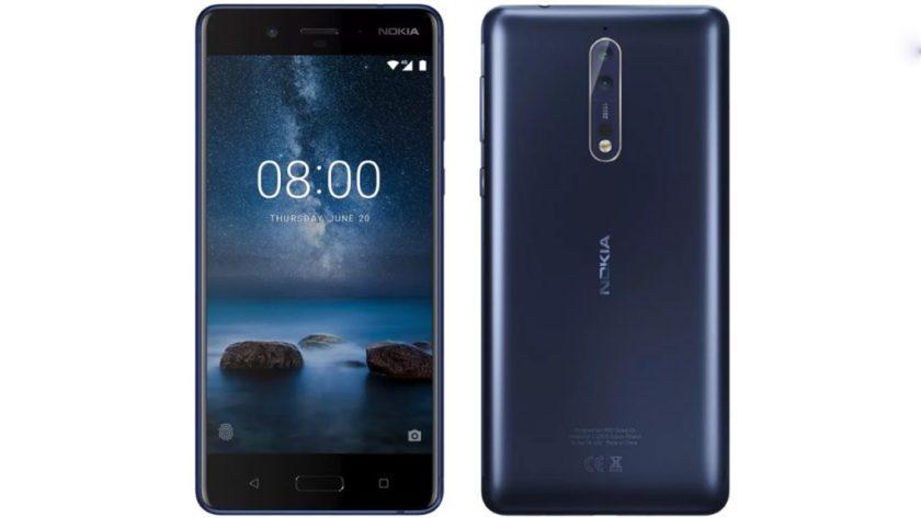 La versión del Nokia 8 con 6 GB de RAM y 128 GB llegará en octubre