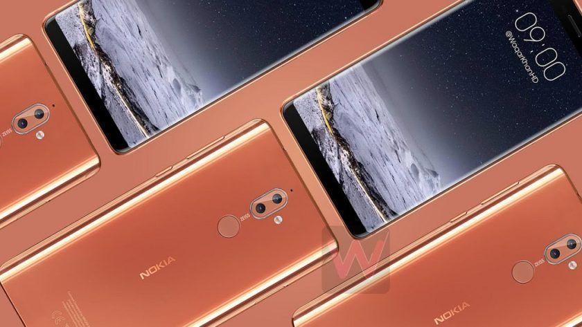 Posible diseño del Nokia 9, un smartphone todo pantalla
