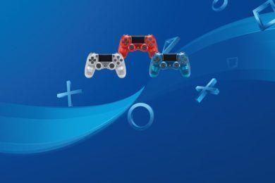 Azul, blanco y rojo son los colores de los nuevos Dualshock 4 'Crystal' para PS4