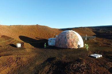 Esta semana termina la simulación de aislamiento centrada en Marte
