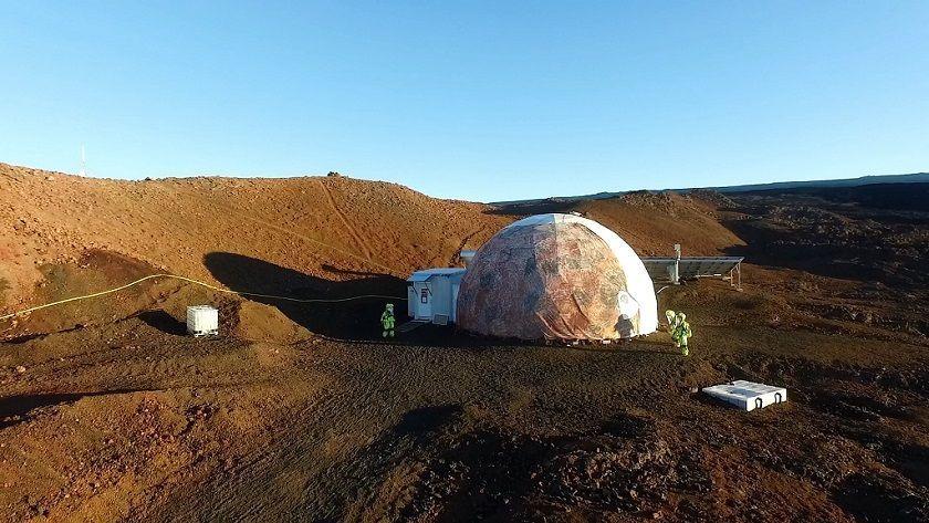 Esta semana termina la simulación de aislamiento centrada en Marte 28
