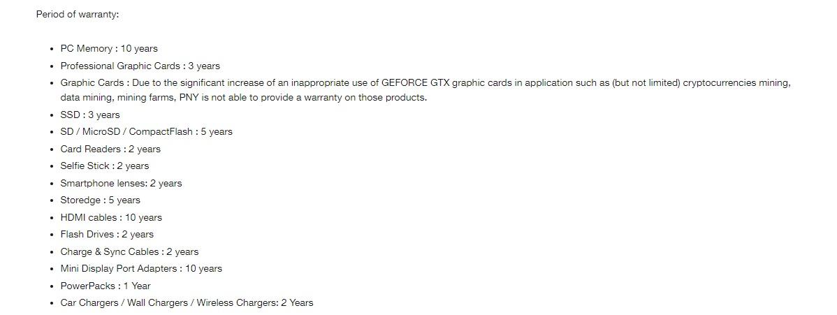 PNY ha dejado de dar garantía en sus tarjetas gráficas 31