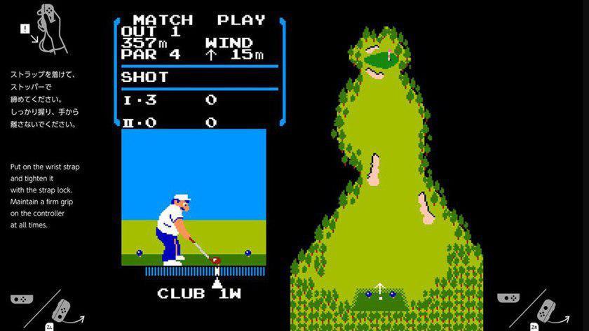 El Golf oculto en Switch sería un homenaje a Satoru Iwata 29