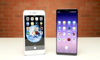 Apple iPhone 8 Plus frente a Samsung Galaxy Note 8, ¿cuál es más rápido? 70