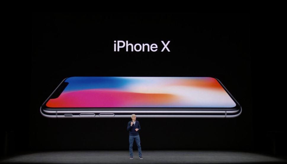 Apple presenta el iPhone X 32