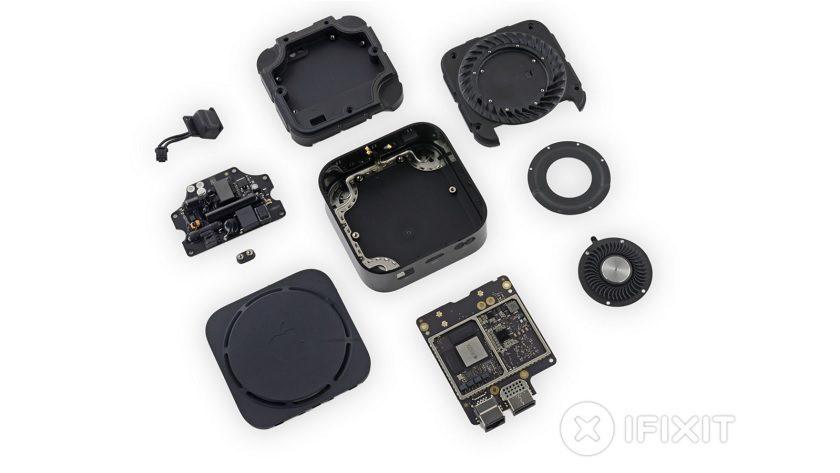 iFixit desmonta la Apple TV 4K y la puntúa con un 8 sobre 10