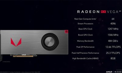 La Radeon RX Vega 64 mejora su rendimiento minando Ethereum 77