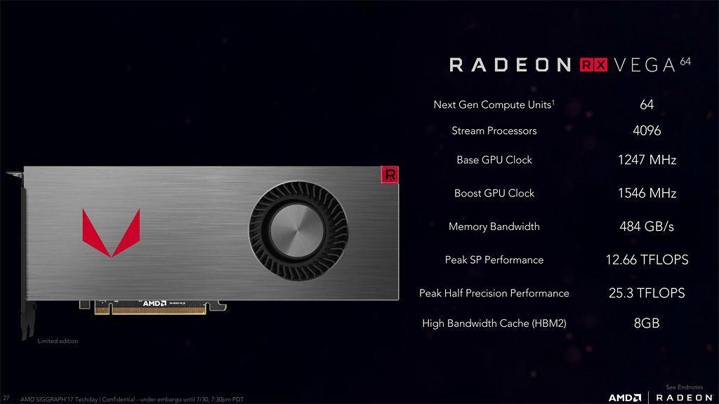 La Radeon RX Vega 64 mejora su rendimiento minando Ethereum 29