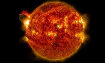 La mayor llamarada solar de los últimos 12 años tumbó las comunicaciones GPS 44