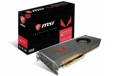 MSI anuncia la Radeon RX Vega 64 IRON 8G Limited Edition