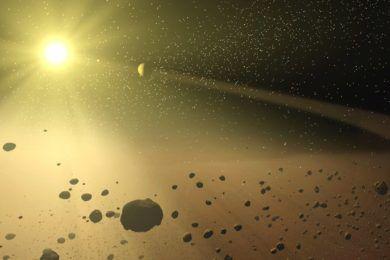 Nanosondas para explorar asteroides, un plan muy ambicioso