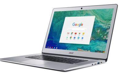 Acer presenta nuevo Chromebook de 15,6″ terminado en aluminio