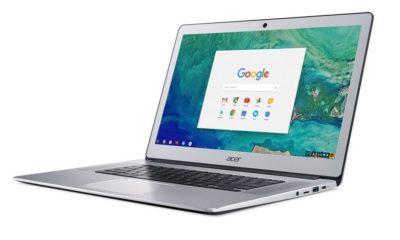 """Acer presenta nuevo Chromebook de 15,6"""" terminado en aluminio 84"""