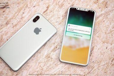 Filtran versiones y precio del iPhone 8 ¡Abstenerse presupuestos ajustados!
