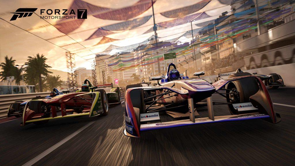 Prueba de rendimiento de Forza Motorsport 7, se lleva bien con las AMD Radeon 34
