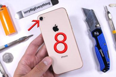 Prueba de resistencia del iPhone 8