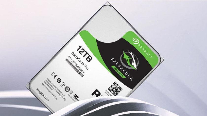 Seagate comercializa discos duros de 12 TB