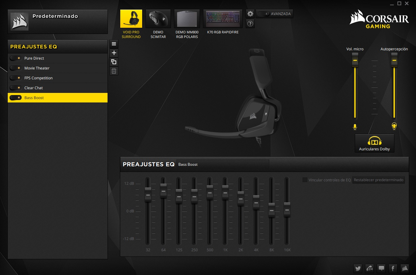 Corsair Gaming VOID Pro Surround Dolby 7.1, análisis 36