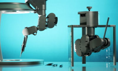 Crean en Países Bajos un robot para mejorar la precisión en las cirugías