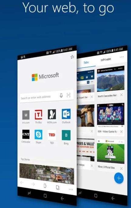Ya puedes probar Microsoft Edge para Android 33