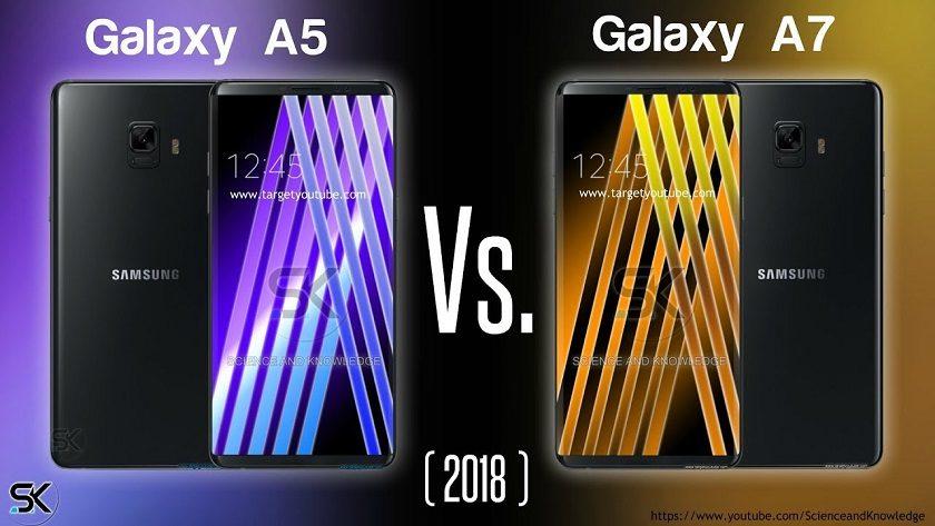 Nuevos renders en vídeo de los Galaxy A5 2018 y Galaxy A7 2018