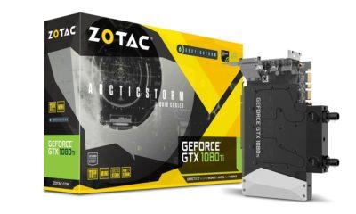 ZOTAC GeForce GTX 1080 Ti ArcticStorm Mini, la más pequeña de su clase 80