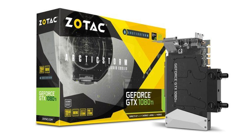 ZOTAC GeForce GTX 1080 Ti ArcticStorm Mini, la más pequeña de su clase