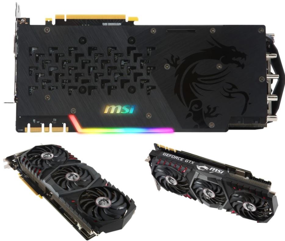 MSI anuncia las GeForce GTX 1080 Ti GAMING TRIO y GAMING X TRIO 33