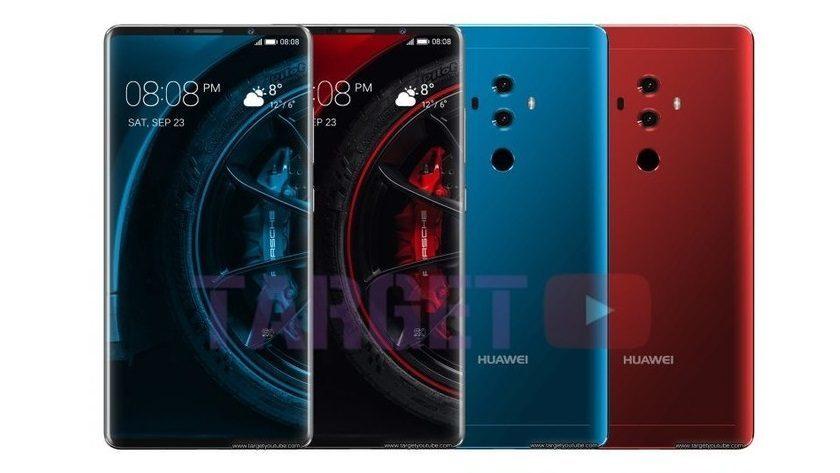 Huawei Mate 10, más imágenes antes del lanzamiento