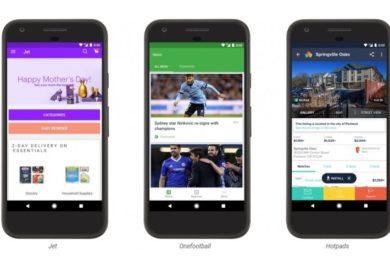 Google Play ya ofrece Instant Apps; utiliza aplicaciones sin instalarlas
