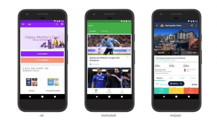 Google Play ya ofrece Instant Apps; utiliza aplicaciones sin instalarlas 35