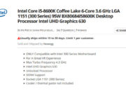 Newegg confirma disponibilidad limitada de los Core 8000 de Intel 33