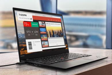 Adiós a las contraseñas en los últimos portátiles de Lenovo con Intel