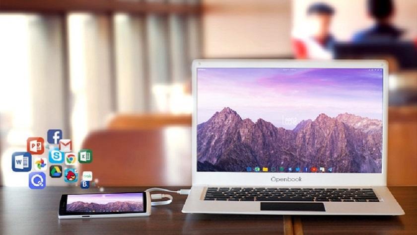 Openbook quiere convertir tu smartphone en un portátil 30