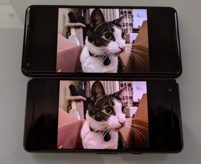 pantalla del Pixel 2 XL